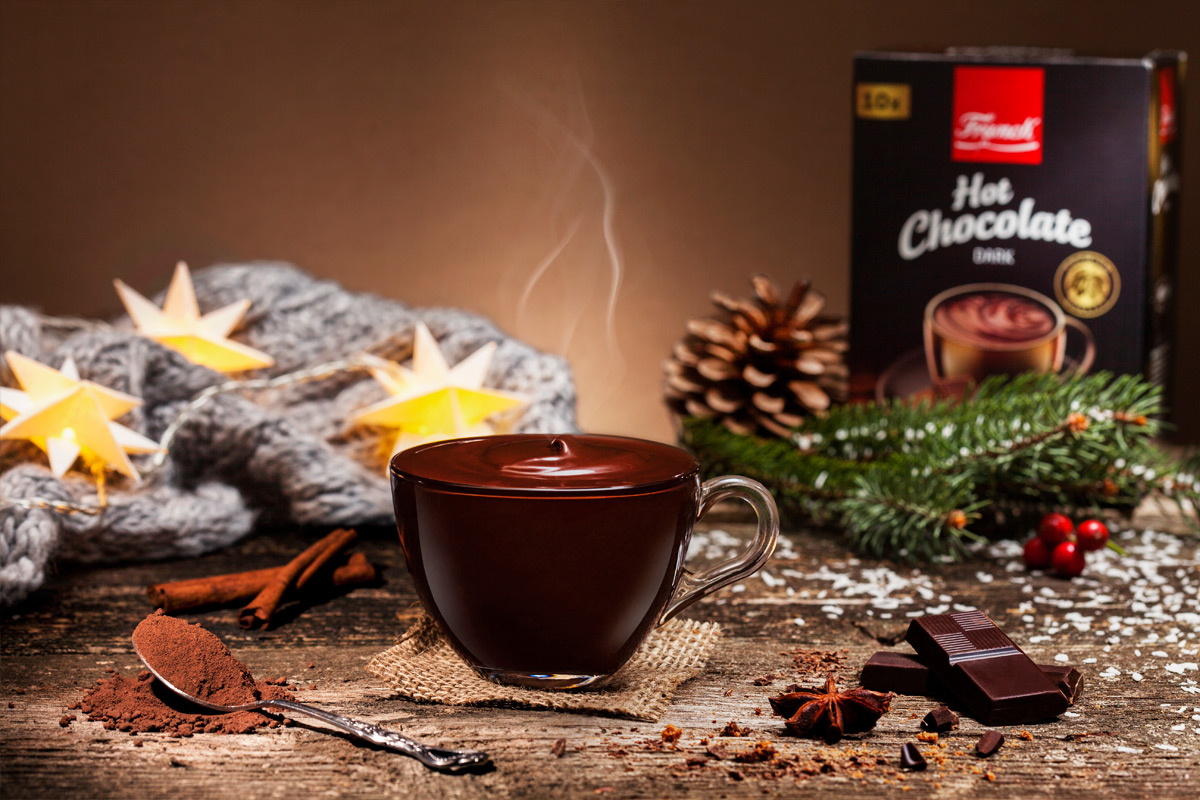 Franck hot chocolate, photo by Heron production